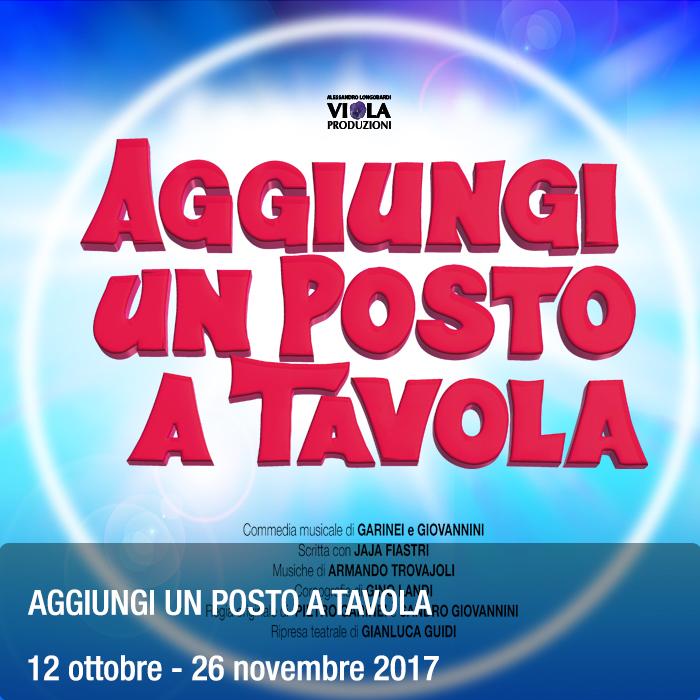 Teatro roma evento aggiungi un posto a tavola vipjet press - Aggiungi un posto a tavola clementina ...